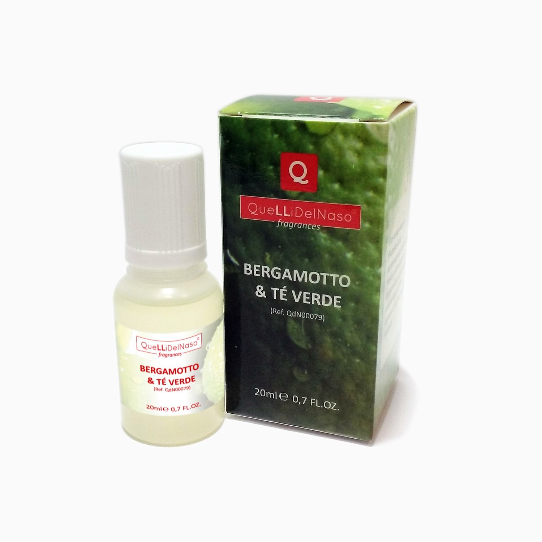 Fragranza Bergamotto e Tè Verde