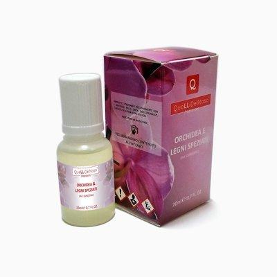 Fragranza Orchidea e Legni Speziati