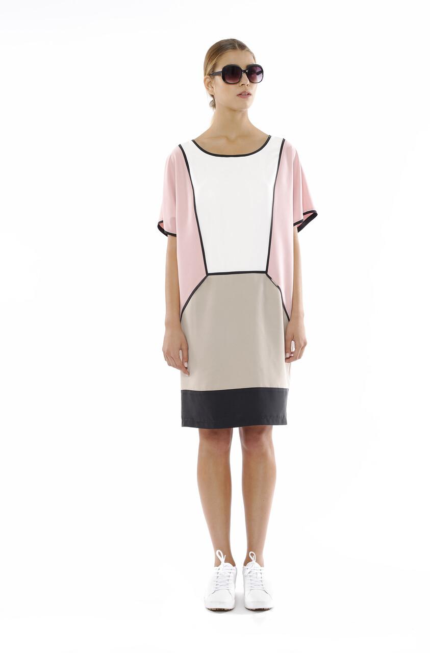 vestido cupro multi color preço inicial 155€
