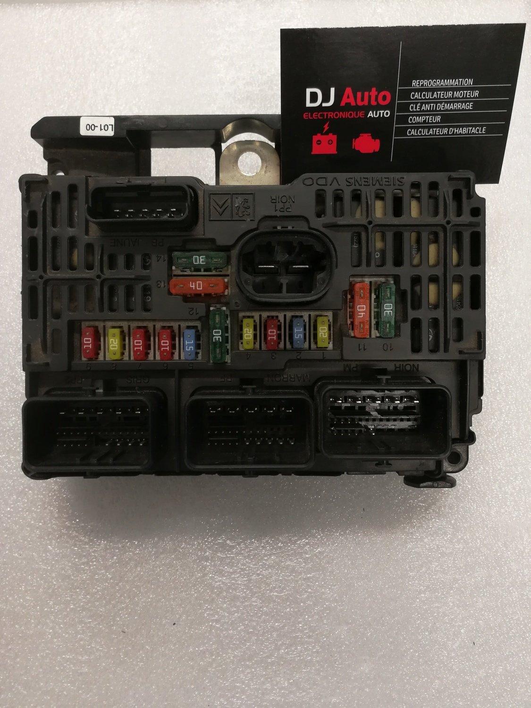 Peugeot BSM L01 00 Siemens S118983001 M 9656593780