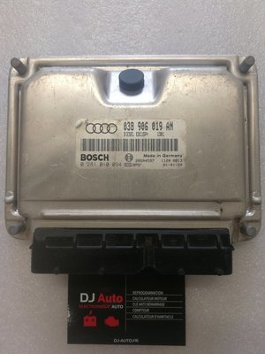 Audi Calculateur moteur A4 1.9 TDI Bosch 038 906 019 AN - 0 281 010 094