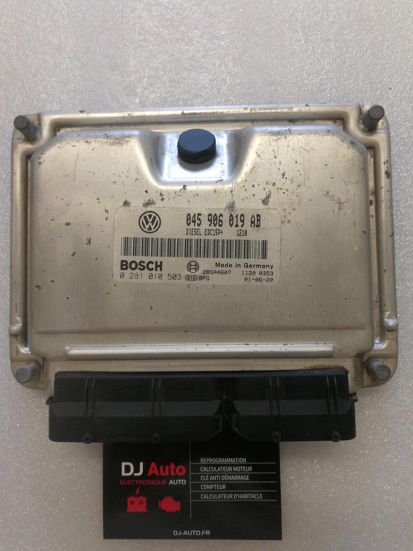 Volkswagen Calculateur moteur POLO 1.4 TDI Bosch EDC15P+ 045 906 019 AB