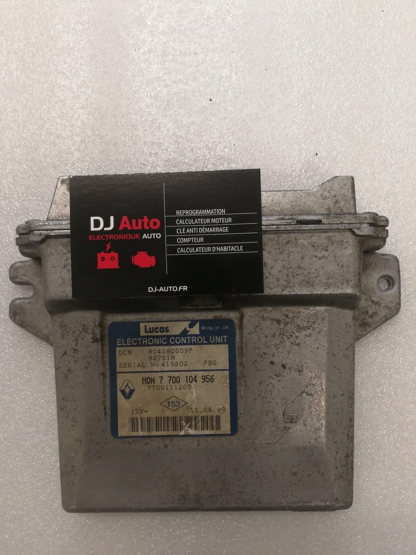 Renault Calculateur moteur 1.9D LUCAS R04080009F - 7700104956