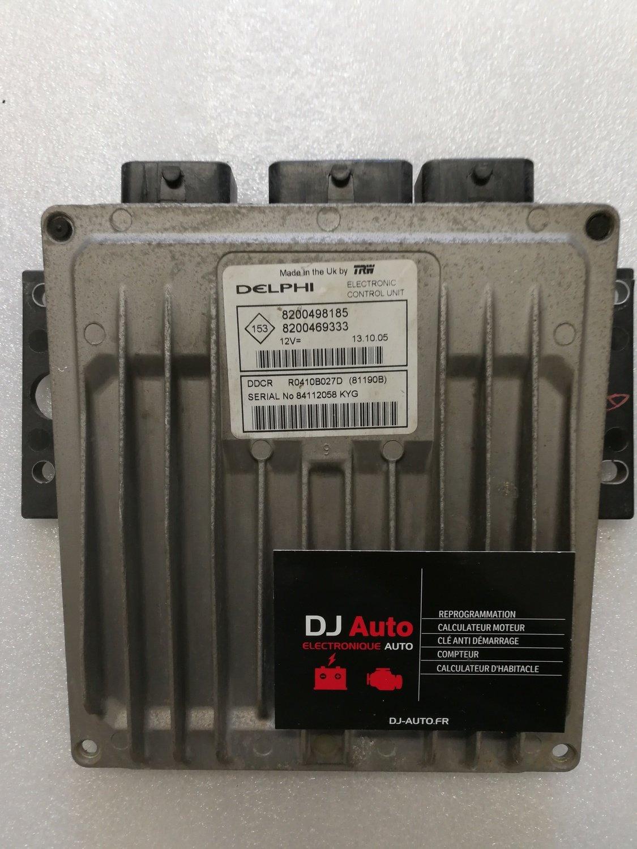 Renault Calculateur moteur Clio Kangoo 1.5 DCI Delphi DDCR 80931H 8200212346 8200114905