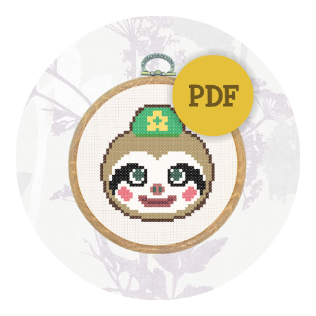 August Special! Cross stitch pattern - Leif