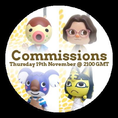 Figurine Commission Slot - November 2020