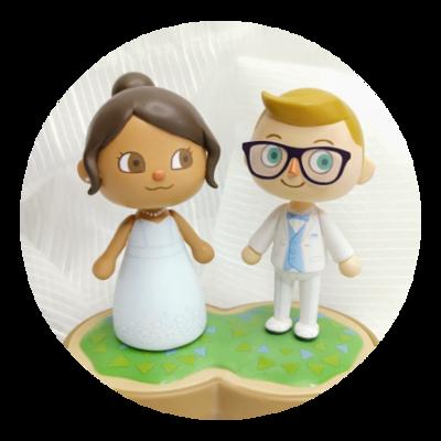 Custom Wedding Figurine Commission