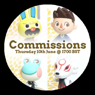 Figurine Commission Slot - June 2021