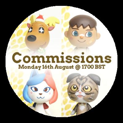Figurine Commission Slot - August 2021