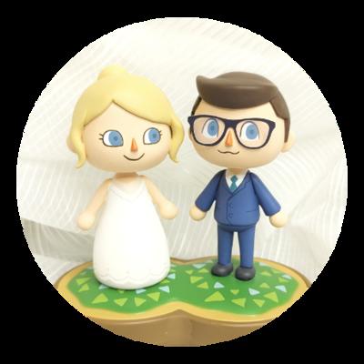 Wedding-Style Figurine Commission