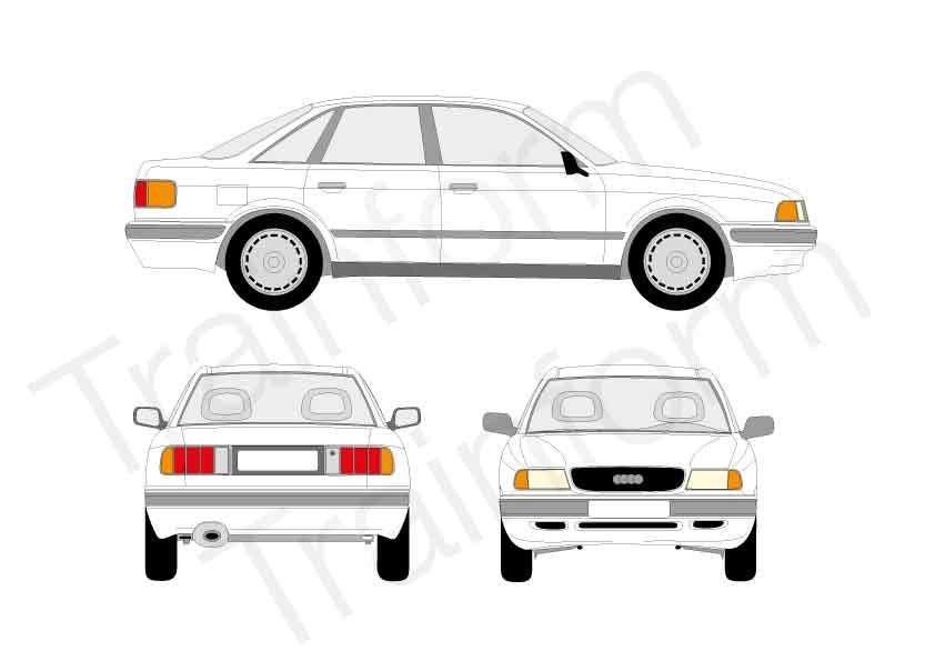 Audi 80 4P 1991