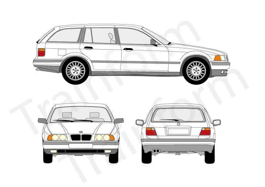 BMW Serie 3 SW 1995