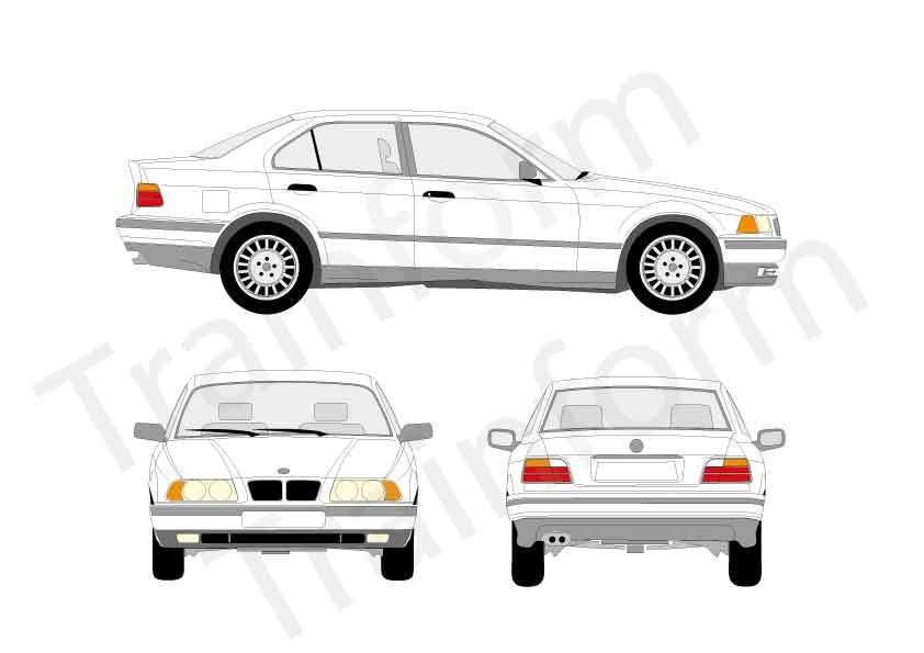 BMW Serie 3 4P 1995
