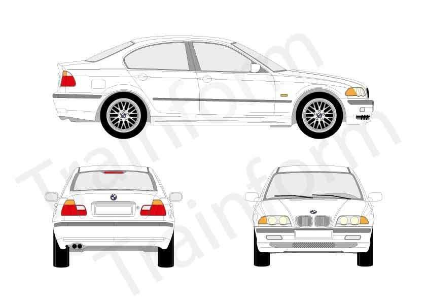 BMW Serie 3 4P 1998