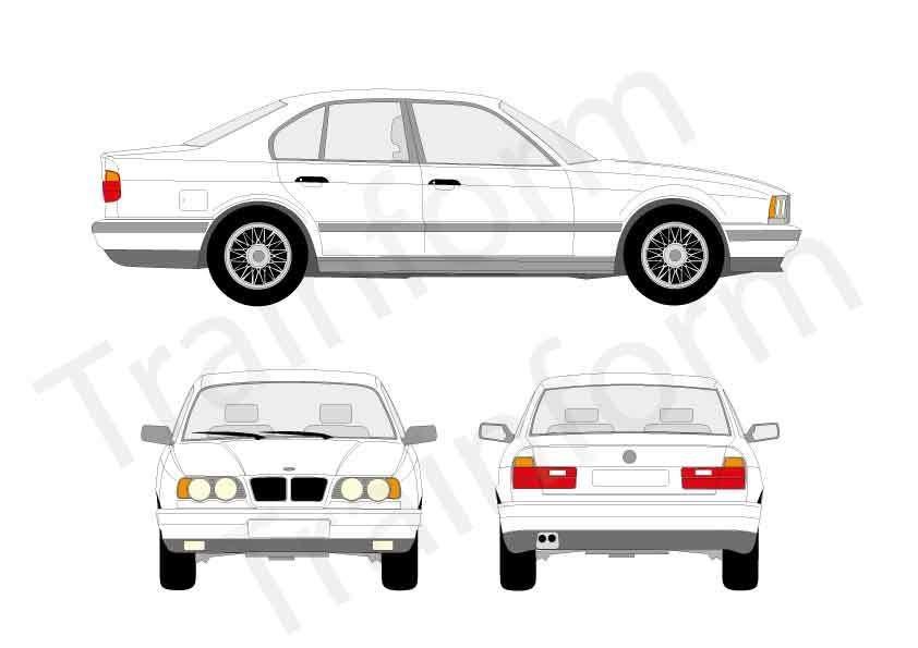 BMW Serie 5 4P 1990