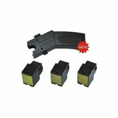 Taser with 3 cartridges and case