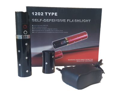 Multi-functional defensive taser and torch