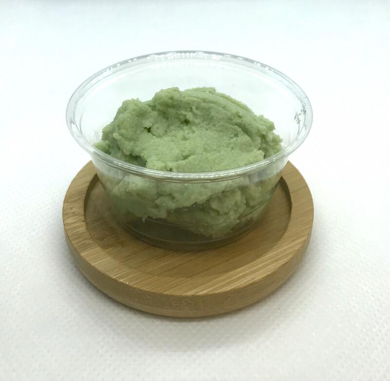 A little pot of wasabi
