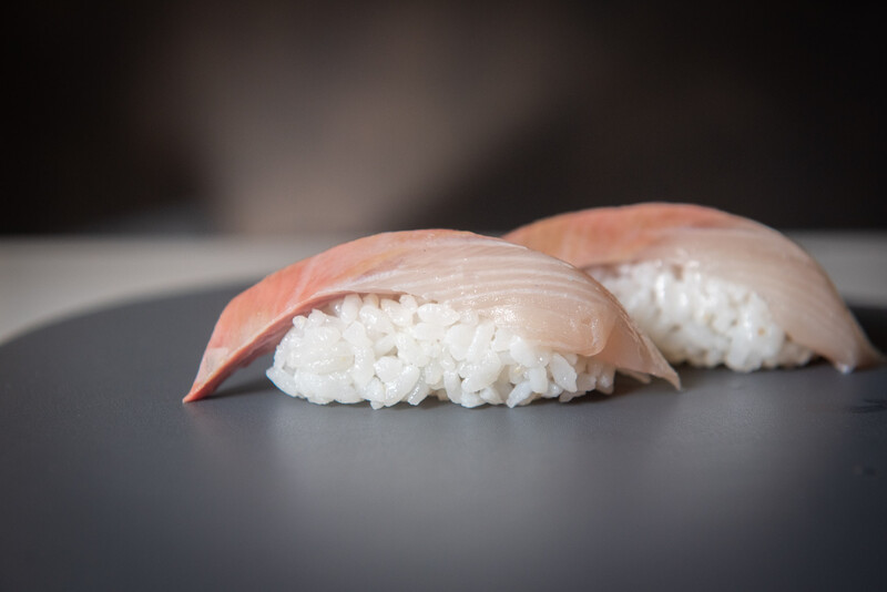 Hamachi Nigiri (2 pieces)