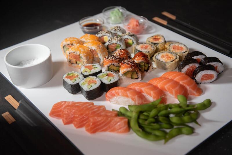 The Salmon Lovers' Platter