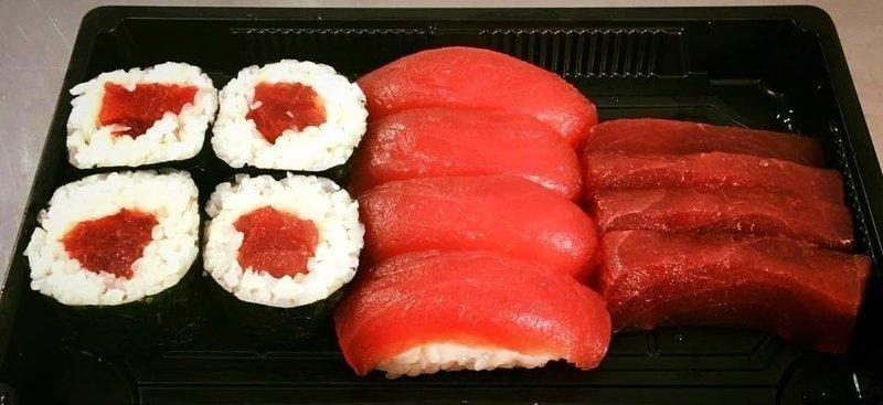 Tokyo tuna box