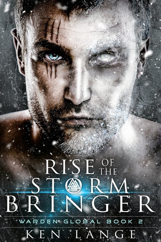 Rise of the Storm Bringer signed book