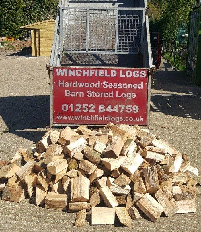 Half Load of logs