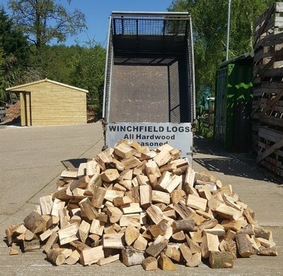 Jumbo Load of Logs