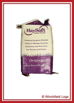 Bale of Haysoft Original Haylage