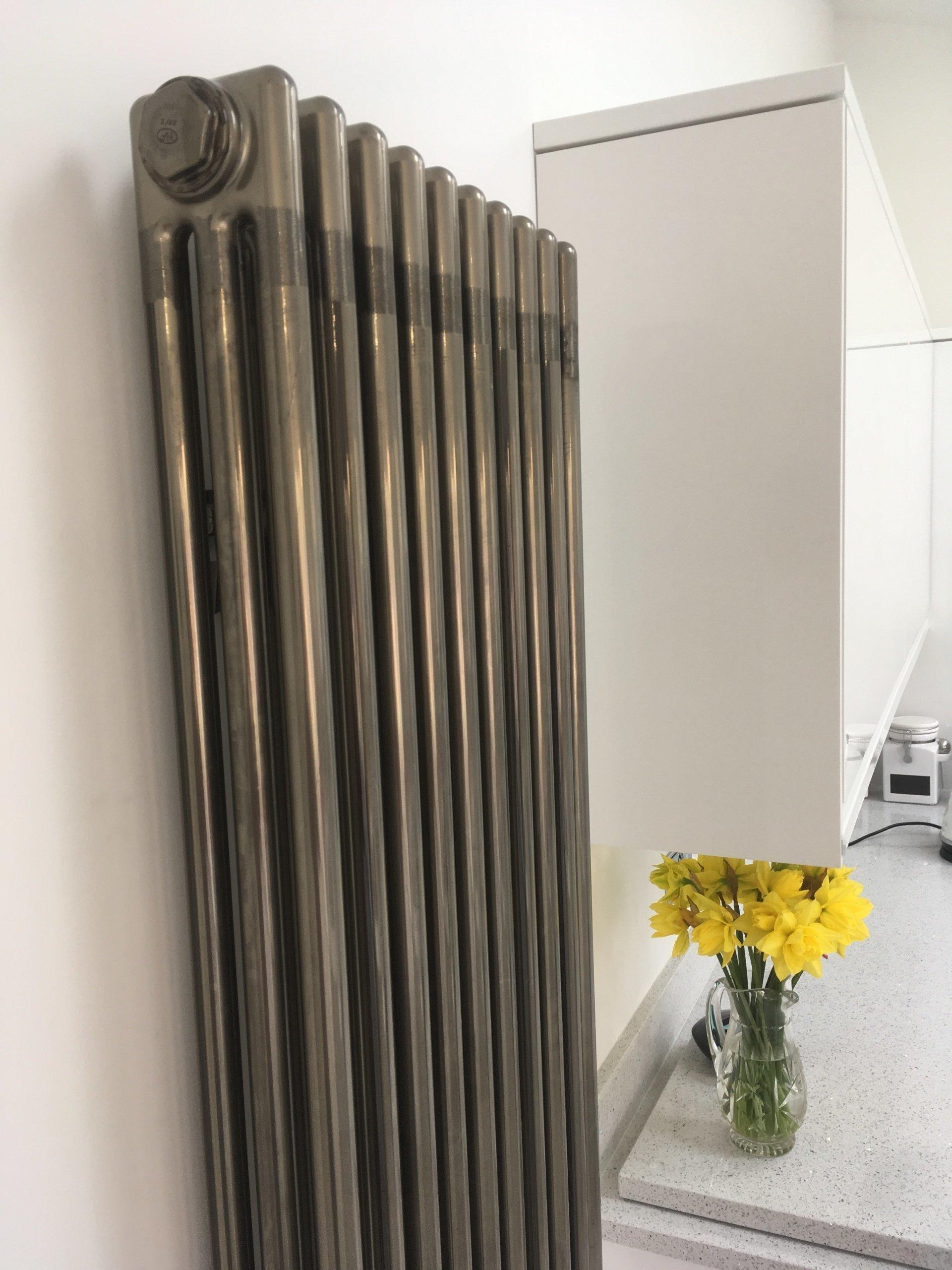 Technoline Bare Metal Column Radiators Made In Germany