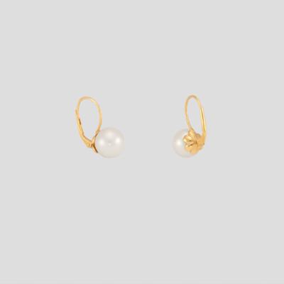 Elena fülbevaló - sárgaarany