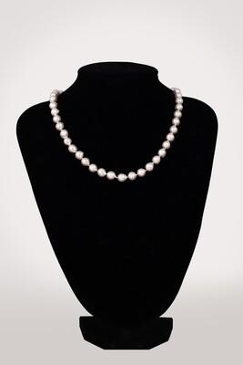 Barokk akoya nyaklánc - tenyésztett gyöngy
