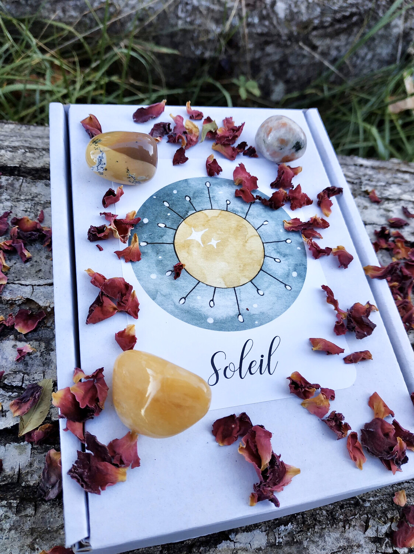 Box Soleil (lithothérapie)