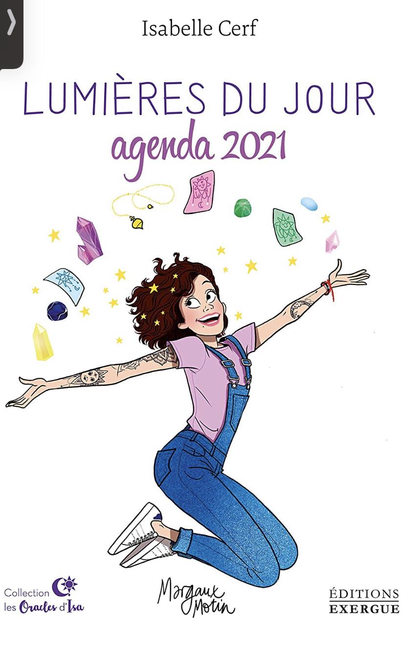 Agenda 2021 Lumières du jour