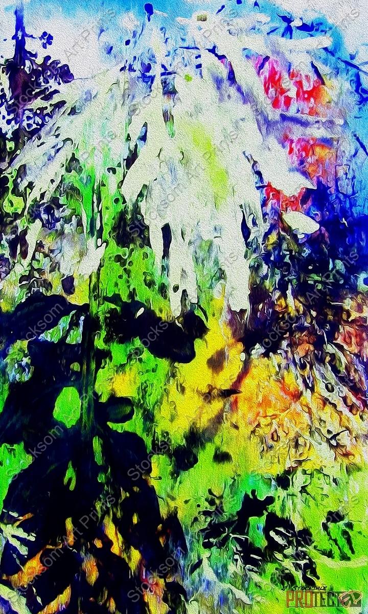 The Garden Abstract