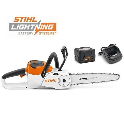 Stihl MSA 120 C-BQ Cordless Chainsaw with AK 20 battery and AL 101 Charger