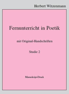 H.Witzenmann: Studien zur Egomorphose der Sprache / 2