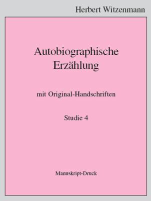 H.Witzenmann: Studien zur Egomorphose der Sprache / 4