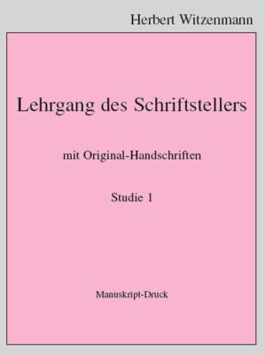 H.Witzenmann: Studien zur Egomorphose der Sprache / 1