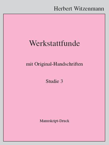 H.Witzenmann: Studien zur Egomorphose der Sprache / 3
