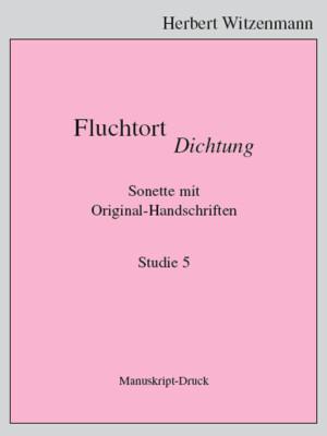 H.Witzenmann: Studien zur Egomorphose der Sprache / 5