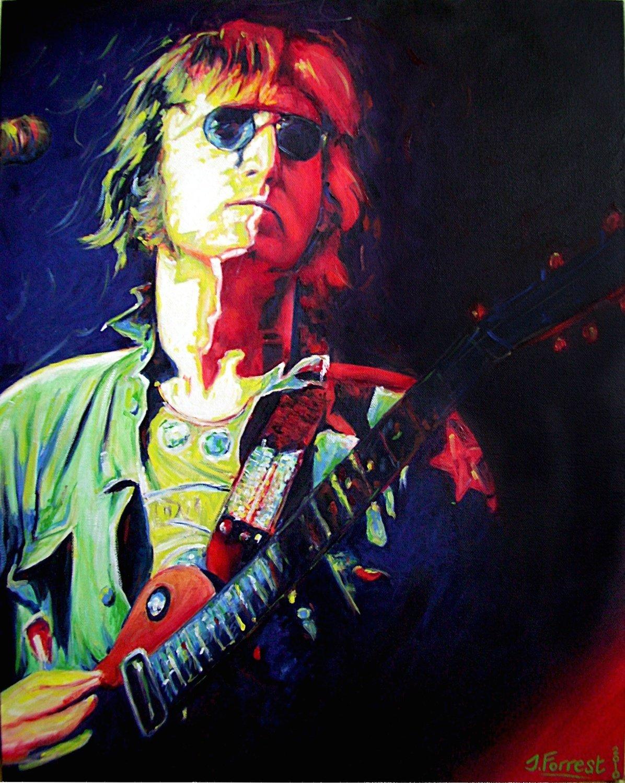'John in Concert' Print