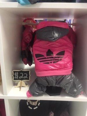 Pink Addidog Jumpsuit