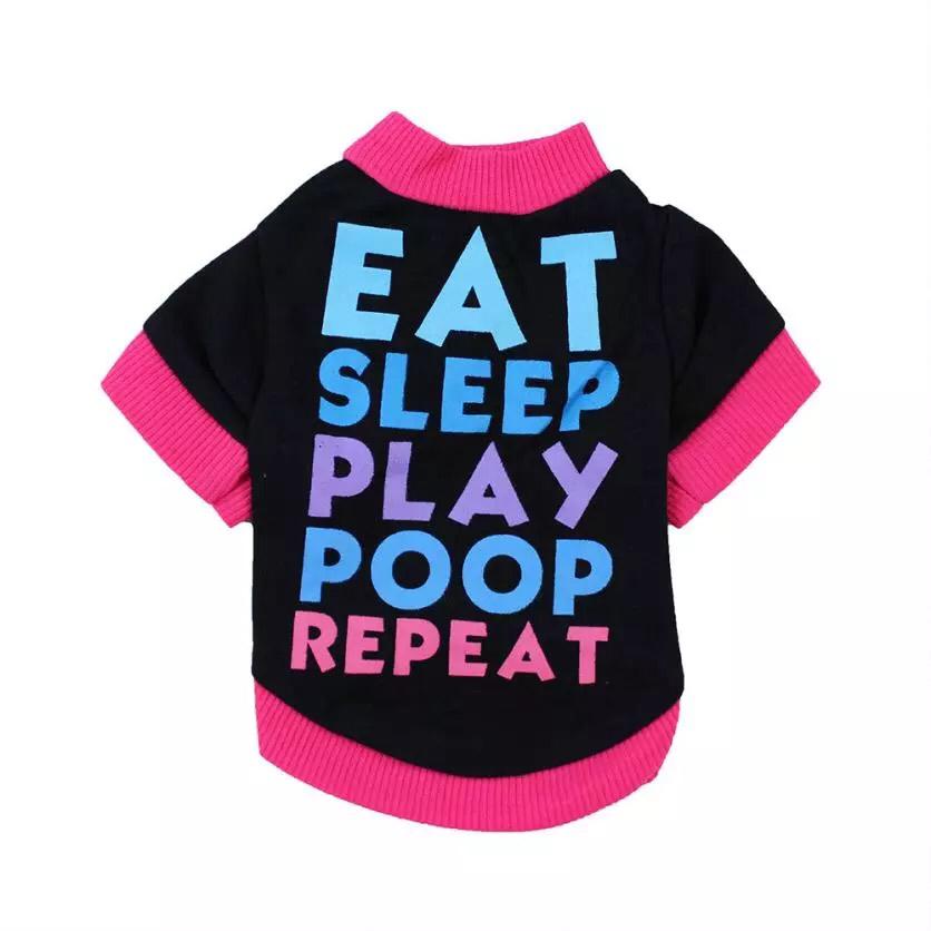 Eat Sleep Play Poop Repeat Shirt