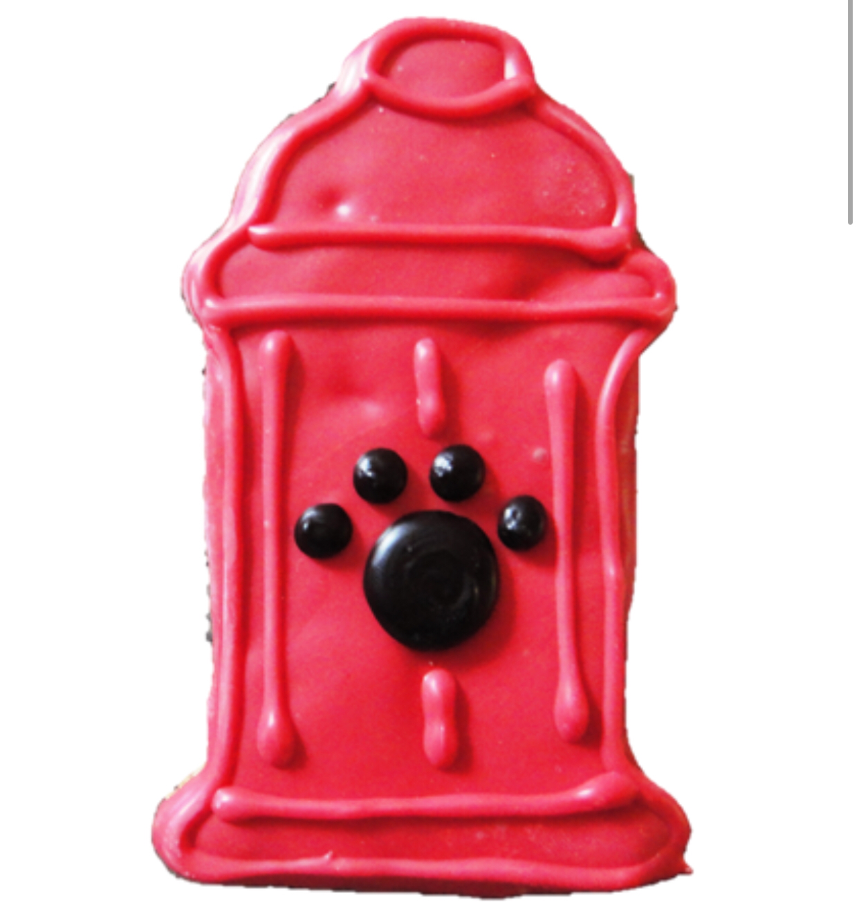 Fire Hydrant Cookie