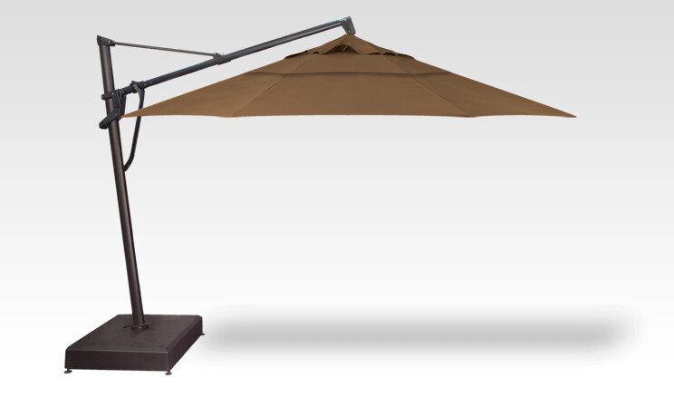 13' STARLUX AKZ PLUS Cantilever Umbrella w/ Lights