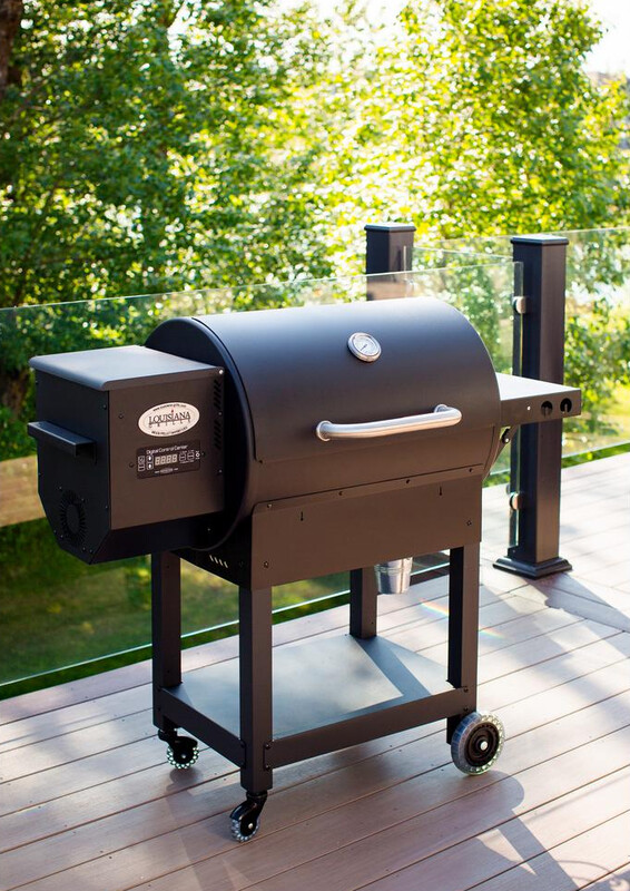 Louisiana Grill LG 700 with FREE Side Shelf