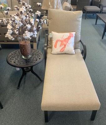 Plantation Single Cushion Chaise Lounge