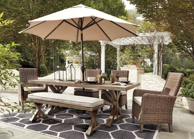 Capistrano 6 Piece Dining Set by A.S. Designs