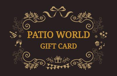 Patio World & Christmas World Gift Card